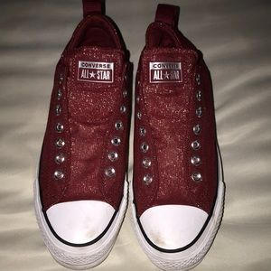 🛍10/$50🛍 Women's Red Converse, Size 9
